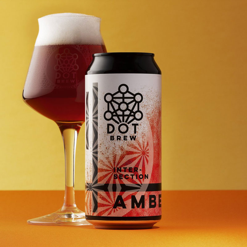 Dot Brew - Intersection Amber - DiscoverBrew