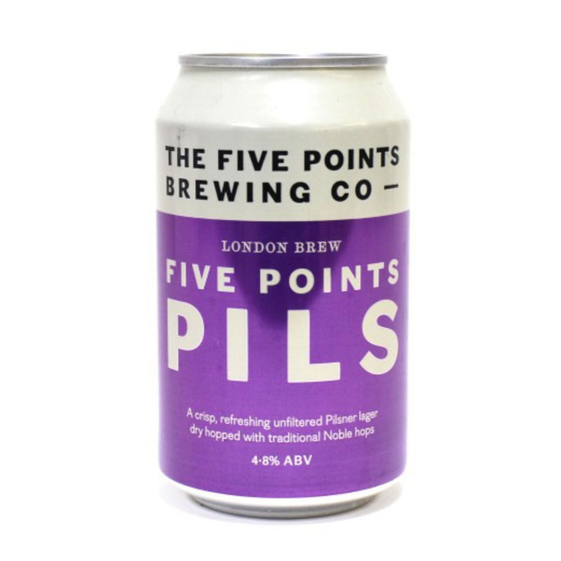 Five Points - Pils Lager - DiscoverBrew
