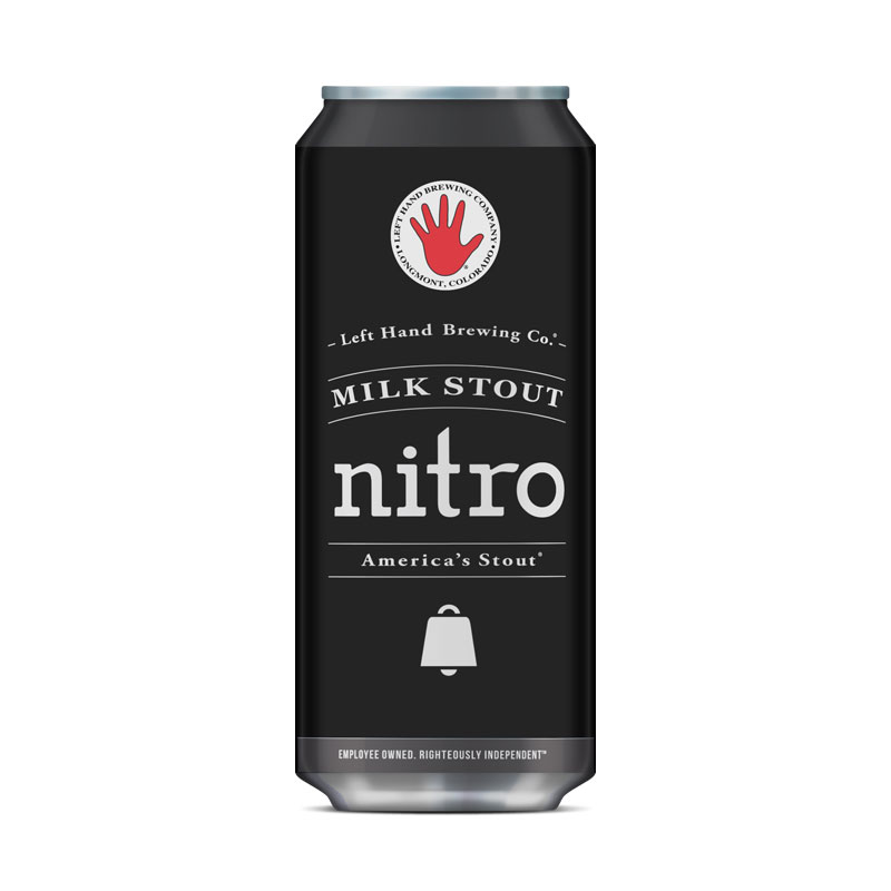 Nitro Milk Stout from Left Hand - DiscoverBrew