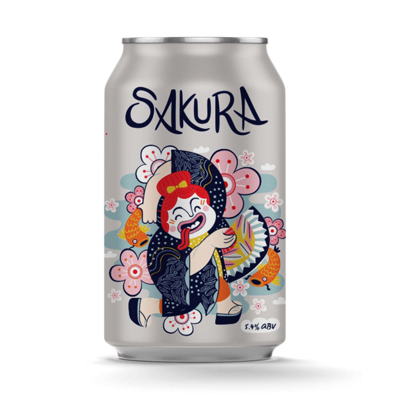 Sakura from Hopfully - DiscoverBrew